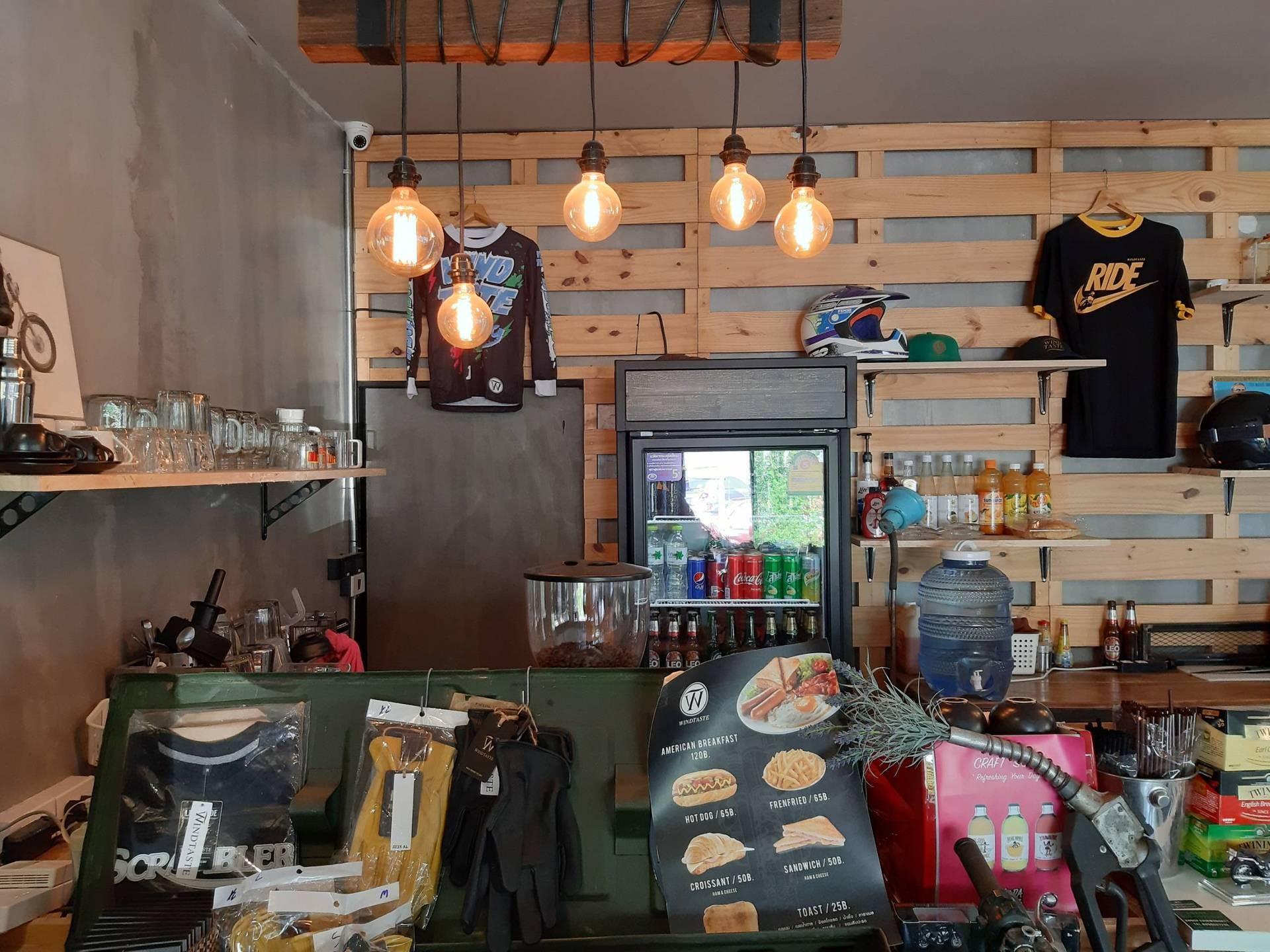 ร ป Windtaste Cafe Wongnai