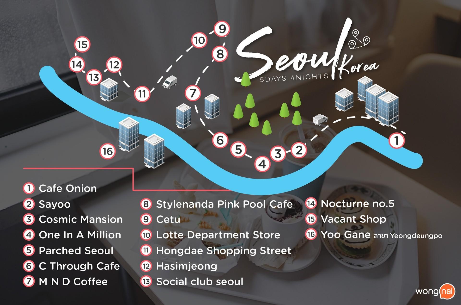 แผนที่โซล, เกาหลี