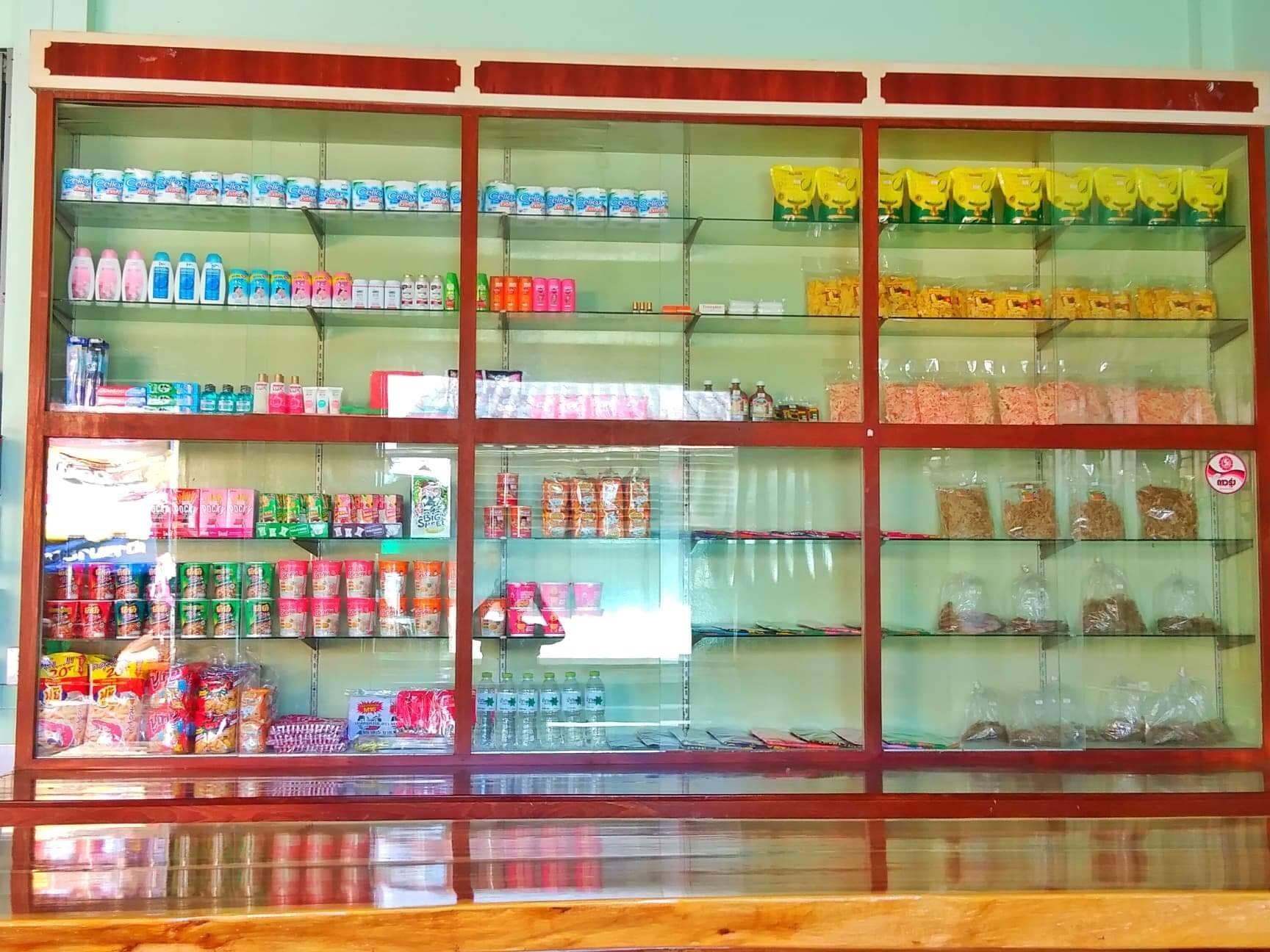 ร้านของฝากสินค้าจากชุมชน