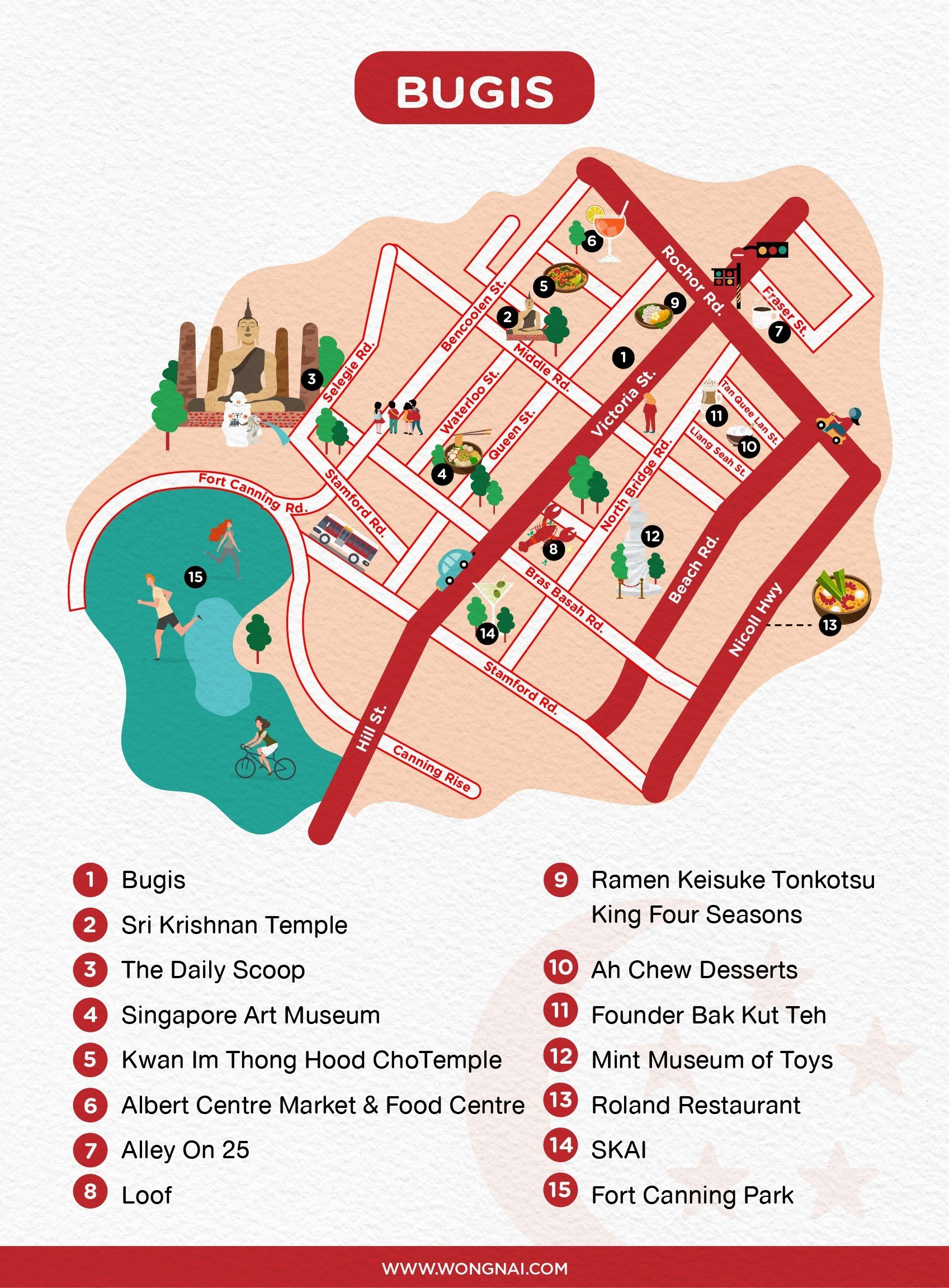 Bugis, Singapore