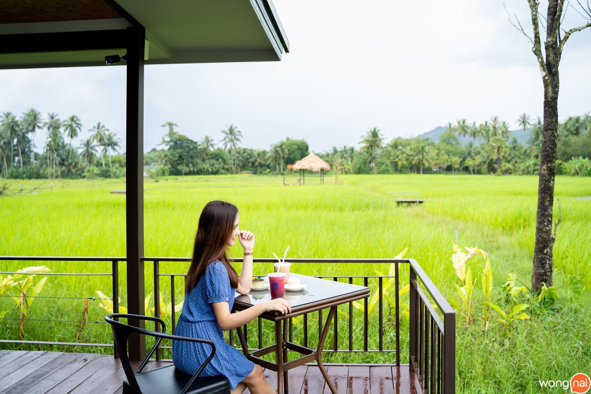 บรรยากาศ Rice Brew Coffee