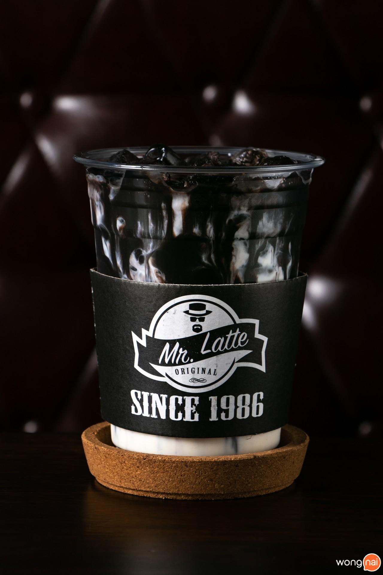 Mr.Black ของร้าน Mr.Latte