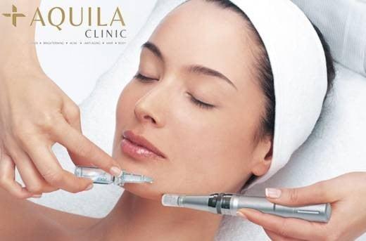 ป้ายราคาหรือสมุดเมนู • Aquila Clinic ที่ ร้าน Aquila Clinic