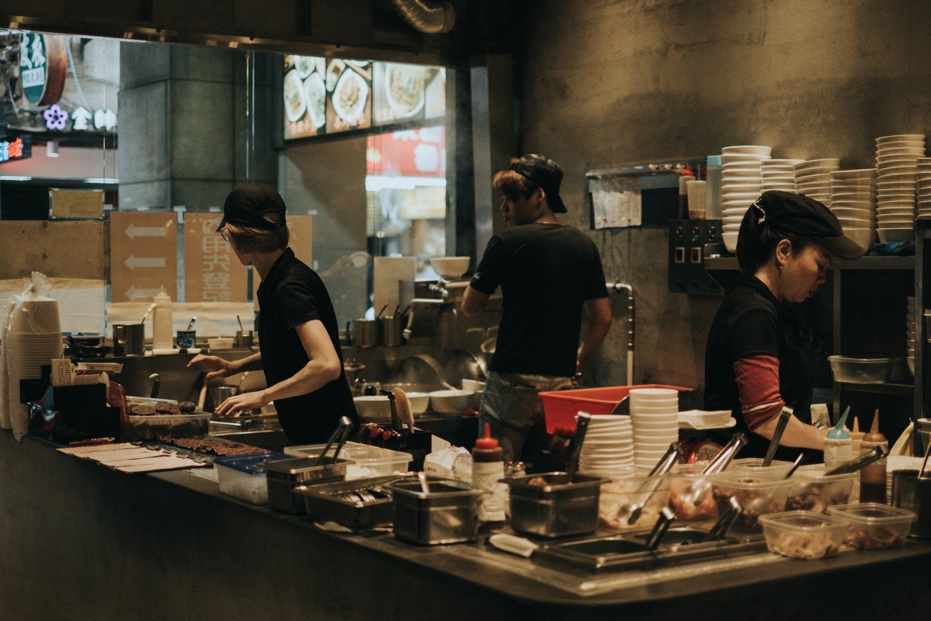 บรรยากาศในร้านอาหาร