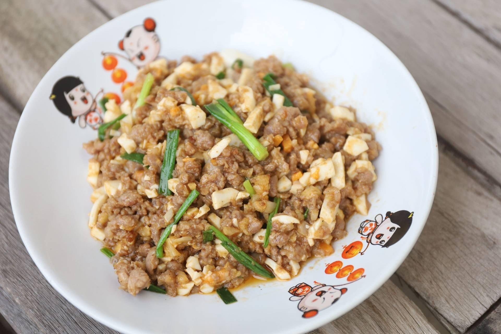 สูตร ไข่เค็มหมูสับ หมูสับผัดไข่เค็ม พร้อมวิธีทำโดย มู๋ ครับ - Wongnai  Cooking