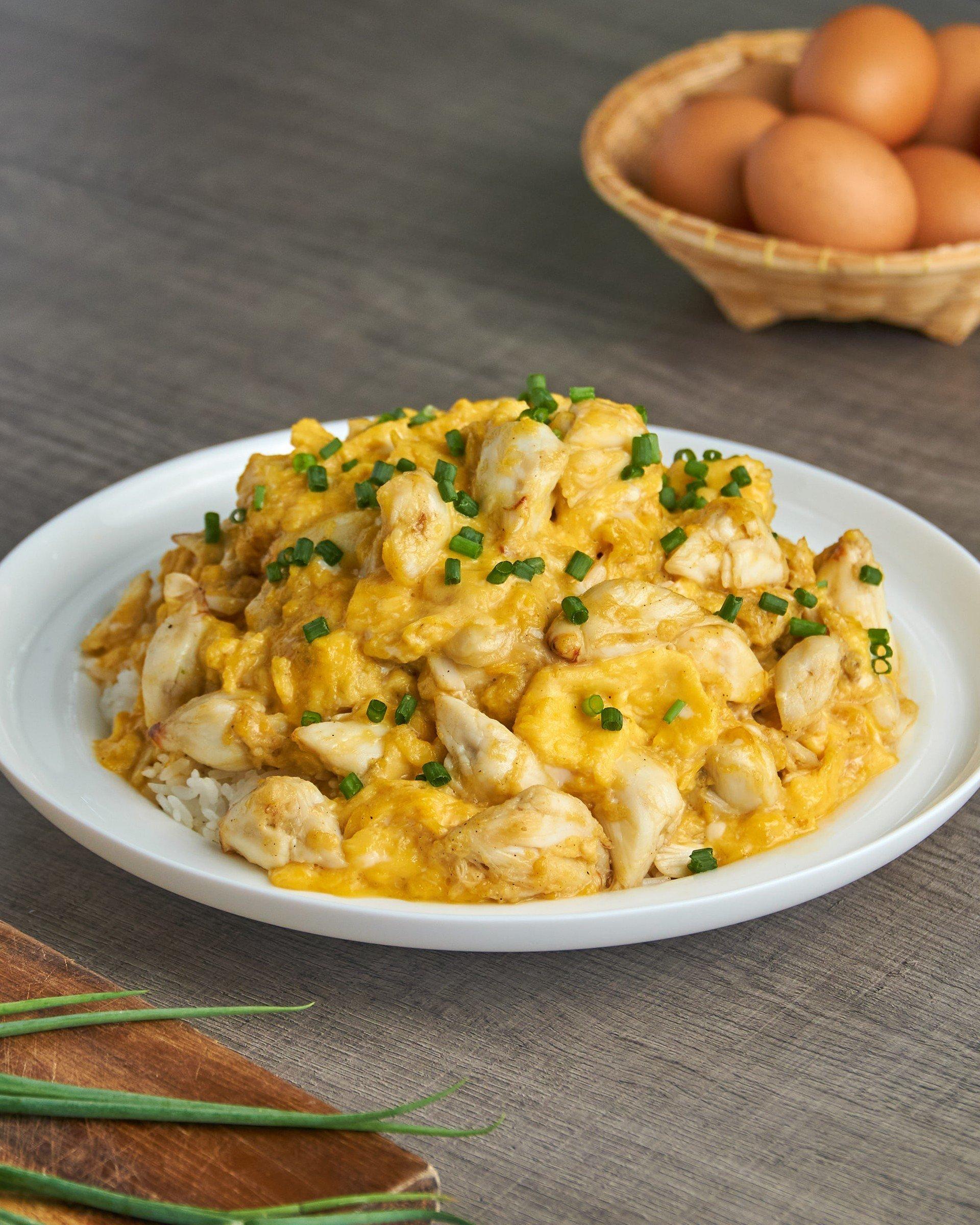 กรรเชียงปูไข่ข้น