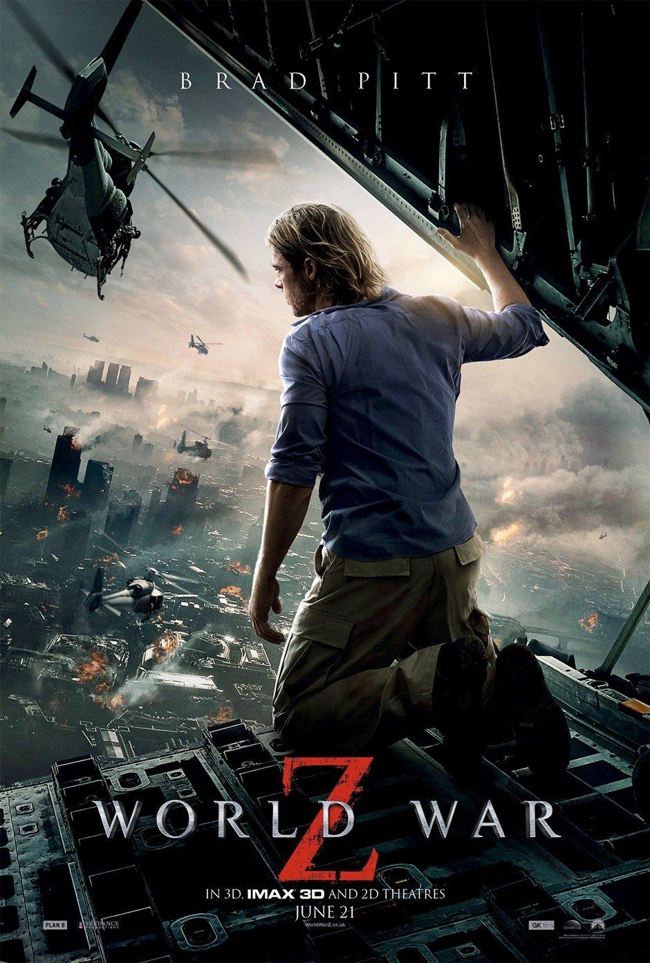 ดูหนังออนไลน์ หนังซอมบี้ World War Z
