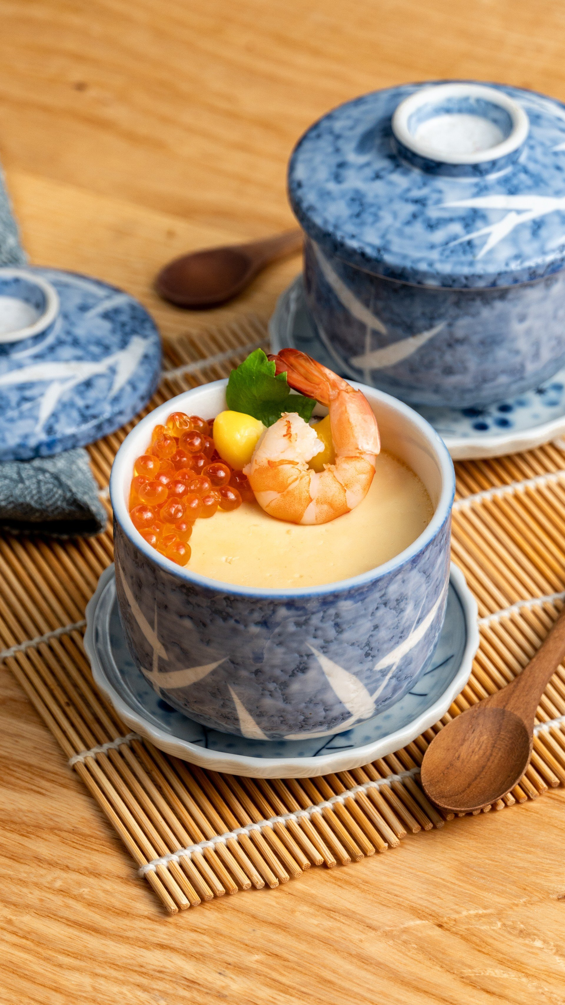 ไข่ตุ๋นญี่ปุ่นไข่ปลาแซลมอน