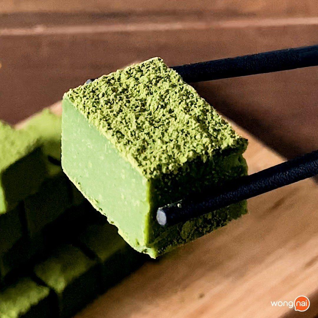 นามะช็อกโกแลตชาเขียว