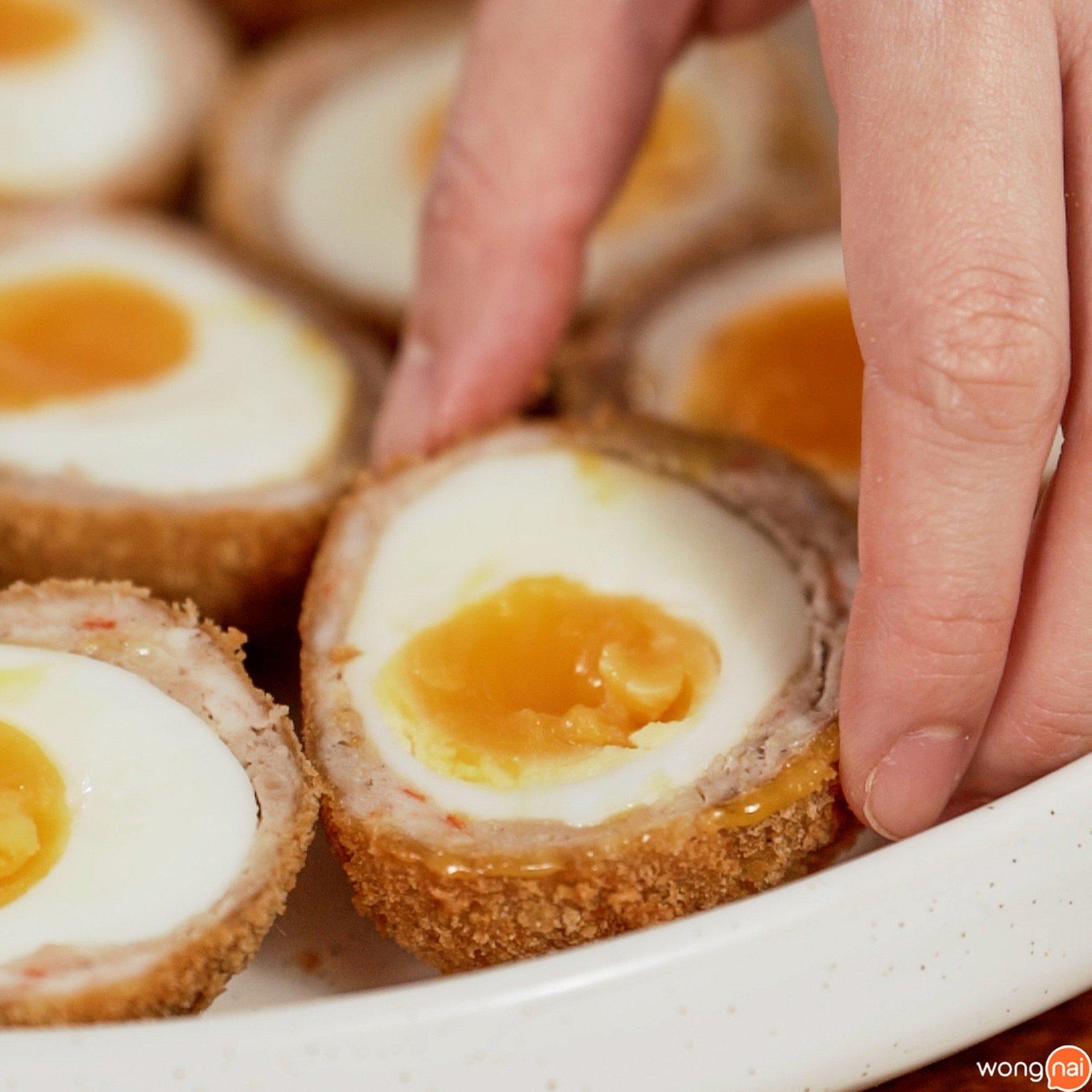 ไข่ลูกเขยฝรั่งยางมะตูม
