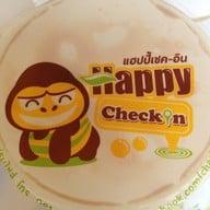 Happy check in