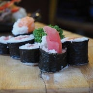 เมนูของร้าน ดิบดี Sushi Cafe สำนักงานใหญ่