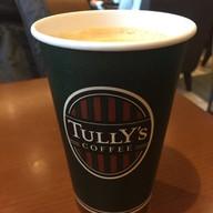 เมนูของร้าน Tully's Coffee