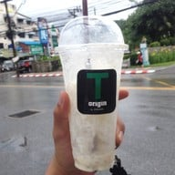 เมนูของร้าน T Origin By ชาพะยอม สามกอง ภูเก็ต