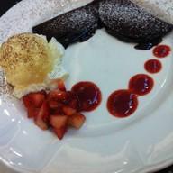 เมนูของร้าน FLUFF Pancake Cafe สยามพารากอน