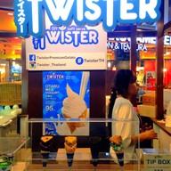 หน้าร้าน Twister DIY soft serve สยามสแควร์ วัน
