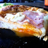 Egg Toast Ham Cheese