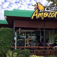 หน้าร้าน DD563 - Café Amazon ปตท.หจก.ธนรักษ์ปิโตรเลียม
