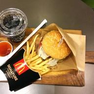 เมนูของร้าน McDonald's สยามพารากอน 1