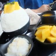 Mango Sticky Rice Bingsu