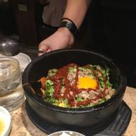 ข้าวยำเกาหลี (ไม่มีเนื้อสัตว์)