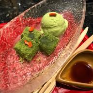 ไอศกรีมชาเขียวกับโมจิชาเขียว##1