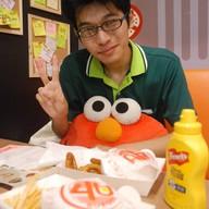 เมนูของร้าน 4u Burger KU Kaset