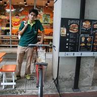 หน้าร้าน 4u Burger KU Kaset