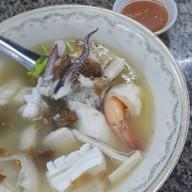 เมนูของร้าน ข้าวต้มปลากิมโป้ (เฮียฮ้อ) เจริญกรุง