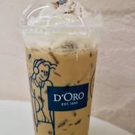 เมนูของร้าน D'oro อาคารรีเจ้นท์