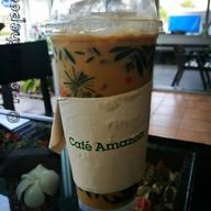 เมนูของร้าน Café Amazon ปตท.ศรีประจันต์ กม.113