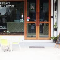 หน้าร้าน The Peace Cafe x Hostel