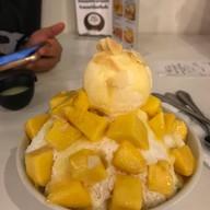 เมนูของร้าน Ice Frost Dessert Cafe