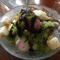 ไอศกรีมกะทิและชาเขียว