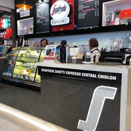 หน้าร้าน Segafredo Zanetti Espresso  เซ็นทรัล ชิดลม