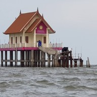 บรรยากาศ พระพุทธมหาสมุทร (ศาลาพระกลางน้ำ)