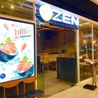 หน้าร้าน ZEN Japanese Restaurant บลูพอร์ต หัวหิน