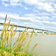 บรรยากาศ สะพานมิตรภาพ ไทย - ลาว แห่งที่ 2