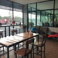 บรรยากาศ บ้านสวนคำสุข cafe'