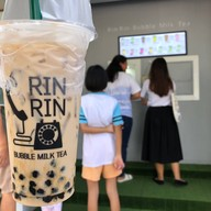 เมนูของร้าน Rin Rin Bubble Milk Tea ถนนจันทน์