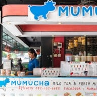 หน้าร้าน Mumucha (ชานมไข่มุก&กาแฟสด&นมสด) ประตูนำ้ (ราชดำริ1)