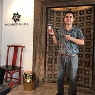 บรรยากาศ Wooden Door Cafe