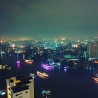 บรรยากาศ Three Sixty Lounge Millennium Hilton Bangkok Hotel