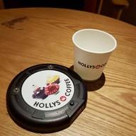 บรรยากาศ Hollys Coffee สุขุมวิท