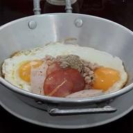 เมนูของร้าน จีนซาน ไข่กระทะ หนองคาย