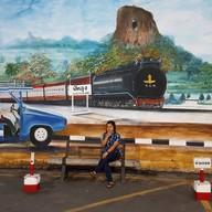 จุดถ่ายรูปสถานีรถไฟพัทลุง
