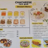 เมนู Chacheese Tea Bar หลังมข.