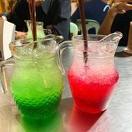 น้ำเขียวโซดา, น้ำแดงโซดา