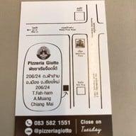เมนู Pizzeria Giotto