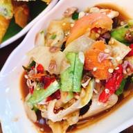 เมนูของร้าน ขนมจีนต้นก้ามปู อโยธยา พระนครศรีอยุธยา